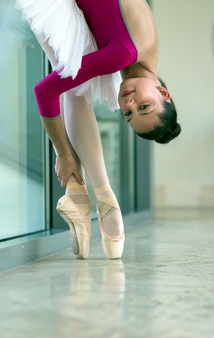fogyni balett közben)