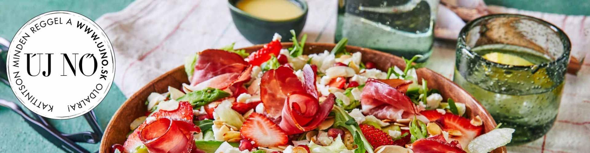 Kiadós tavaszi saláták