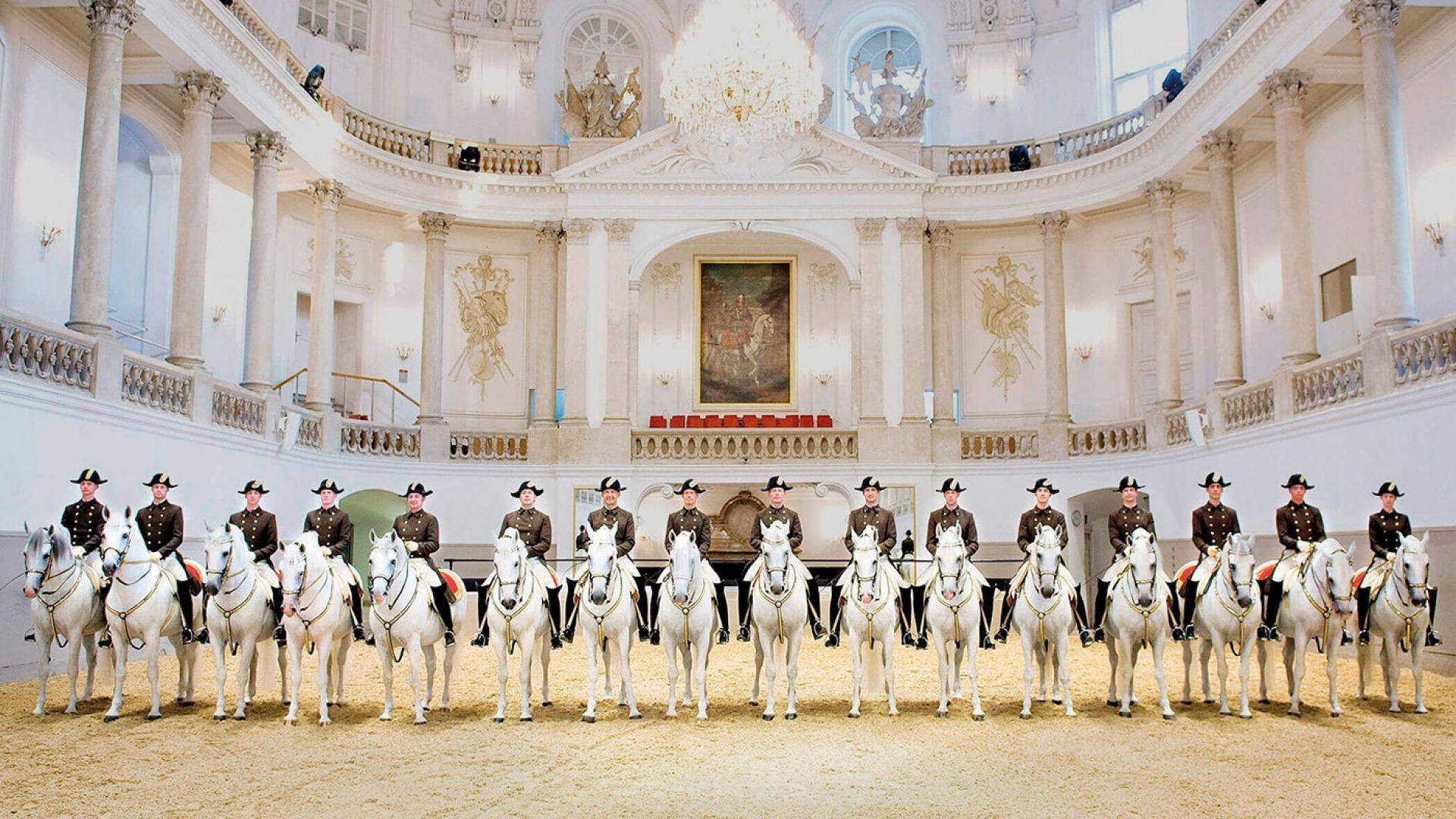 Nézze meg a bécsi spanyol lovasiskolát és a világ legszebb könyvtárát!
