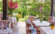 Érlelt marha és házi fagylalt  a Villa Rosában