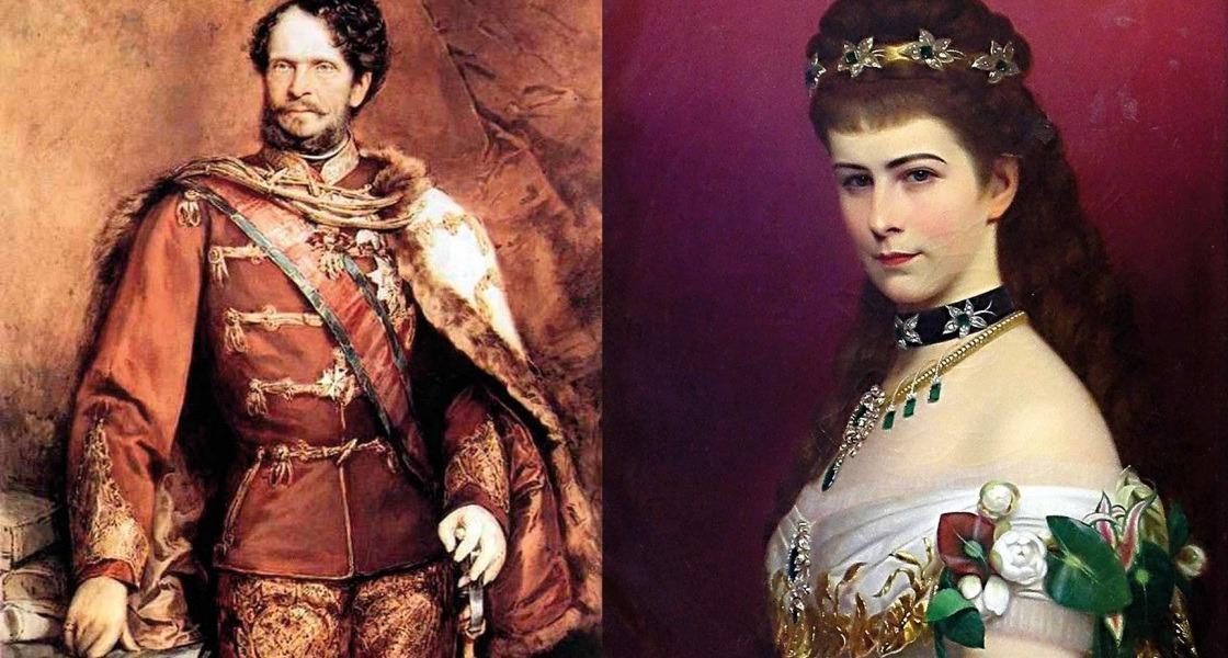Andrássy Gyula és Erzsébet