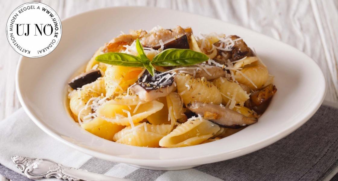 Bolognai húsmentesen, kagylótésztával