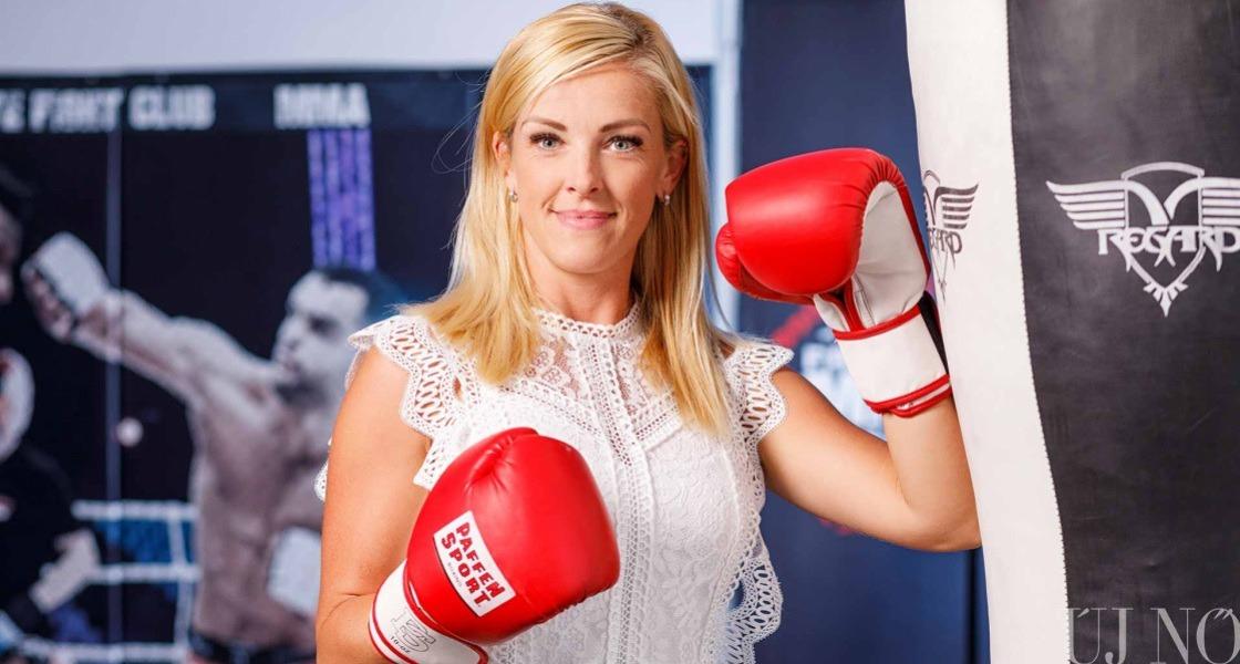 A bokszolófeleség
