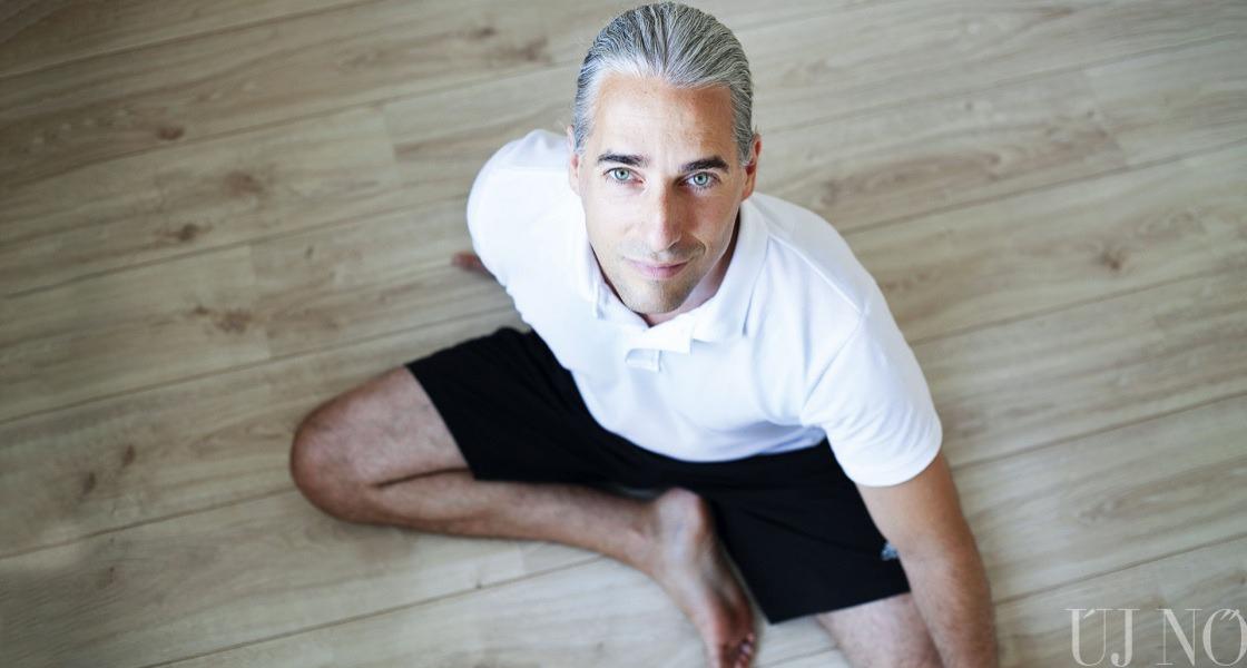 Milyen a férfi, ha jógázik?