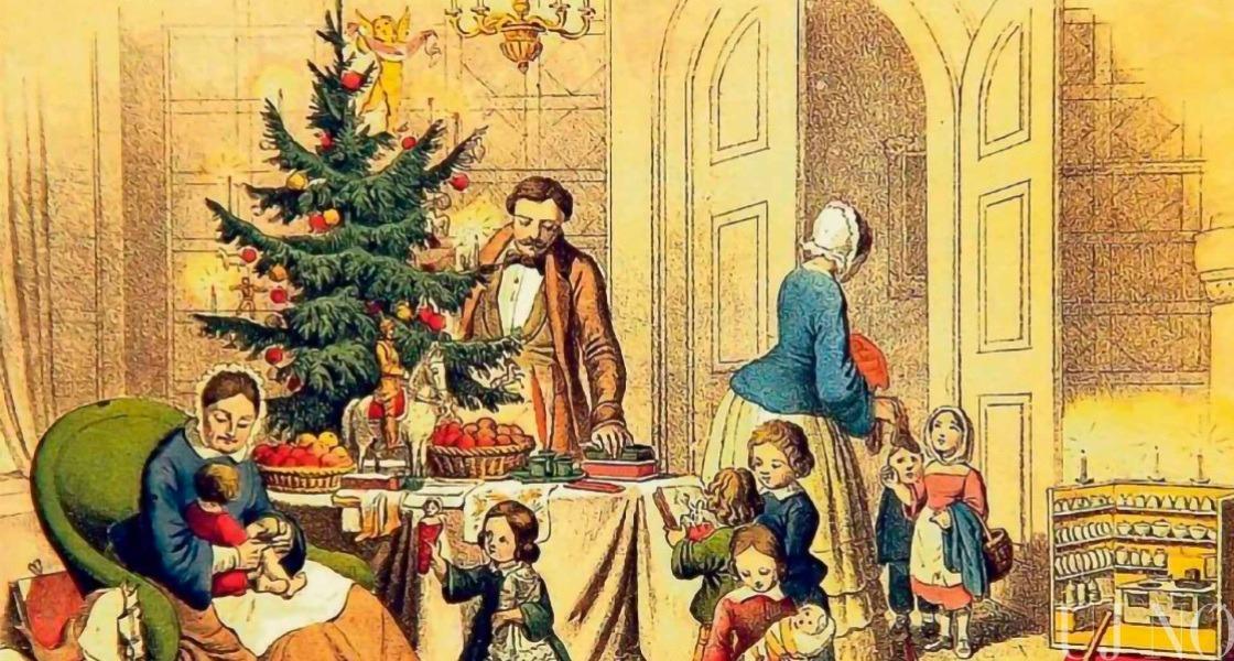 Az első karácsonyfa
