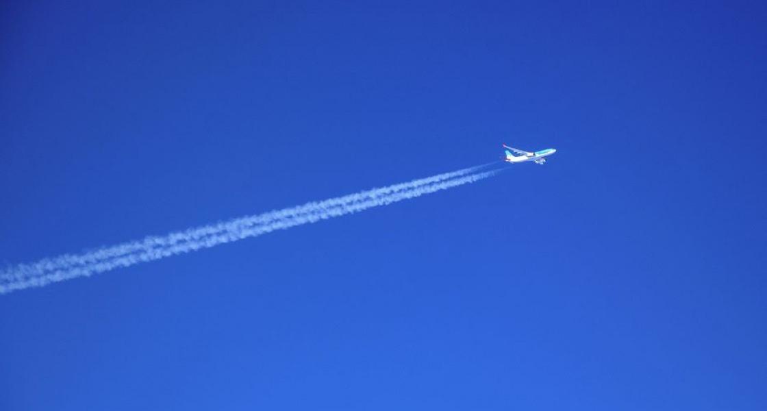 Kék a levegőég