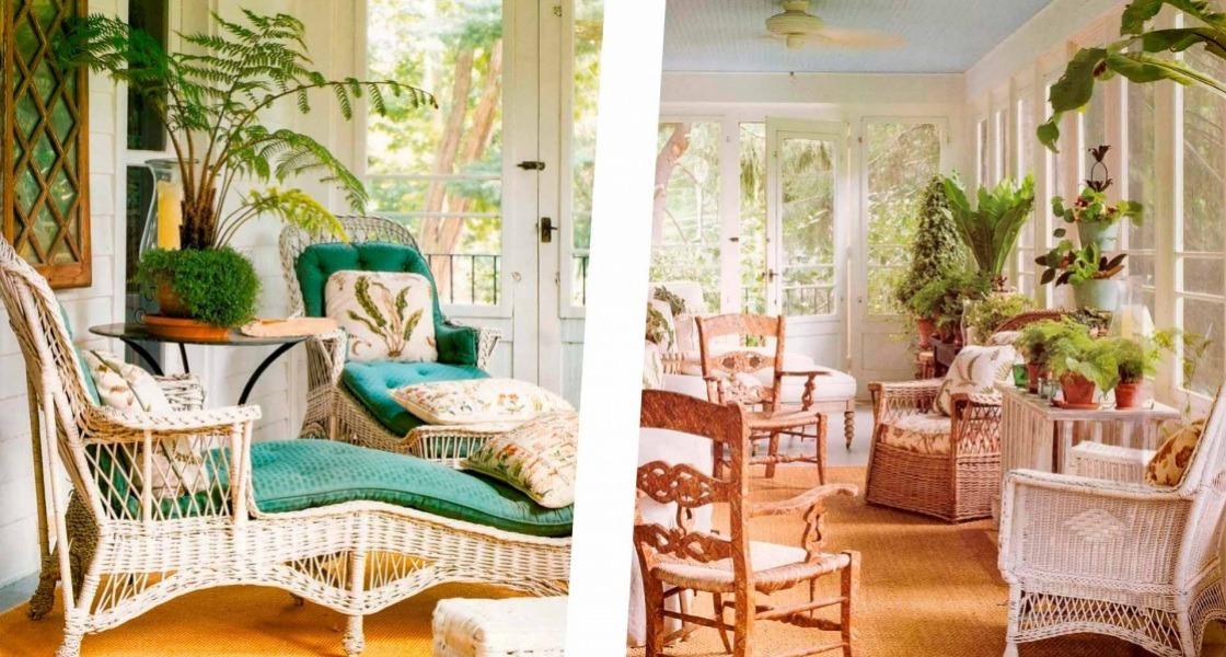A verandán